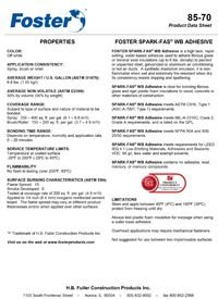 Foster 85-70 Spark-FAS WB Adhesive.pdf