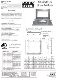 Duro Dyne Grease Duct Doors Submittal.pdf