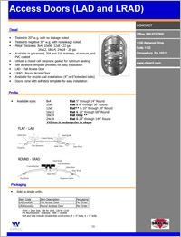 CL Ward Sandwich Access Door LAD and LRAD.pdf